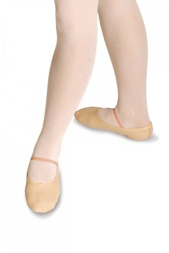 Roch Valley Premium Ballet Shoes with Split Soles Leather Uppers Pink